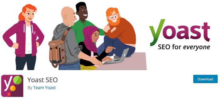 Los mejores complementos gratuitos de WordPress para bloggers - Yoast SEO