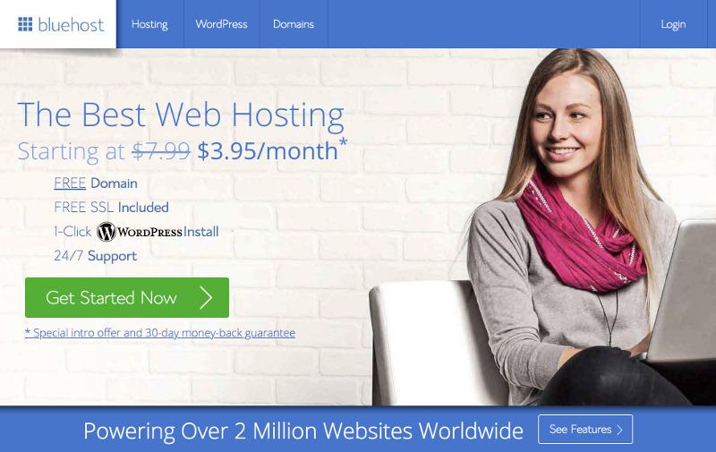 Cómo iniciar un blog de WordPress en Bluehost