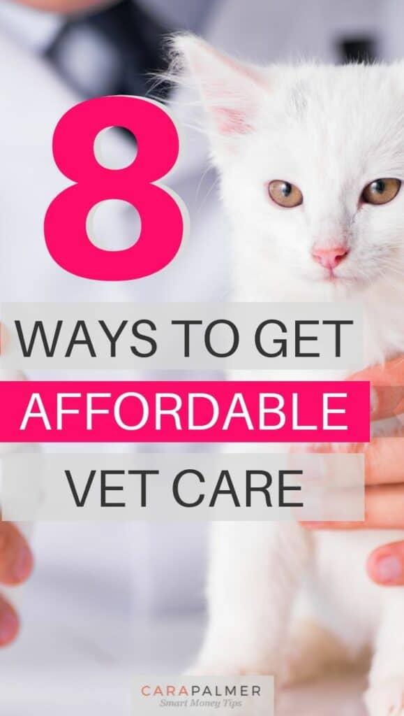 Encuentre atención veterinaria asequible
