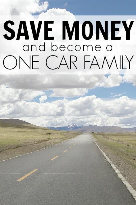 Ahora estamos ahorrando más de $ 7,000 al año al convertirnos en una familia de un automóvil (1)