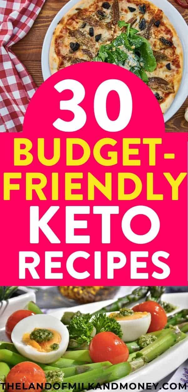 ¡Guau, estas recetas simples de ceto son PERFECTAS para principiantes como yo para hacer un plan de comida ceto fácil y barato! ¡Tener ideas de recetas ceto para estas comidas ceto súper baratas es ideal para tener ideas para el desayuno, ideas para el almuerzo, ideas para la cena, postres y bombas de grasa! Y el hecho de que puedo hacer ceto con un presupuesto con estas recetas es lo mejor, ya que realmente necesito consejos como este para ahorrar dinero y seguir la dieta cetogénica para perder peso #keto #recipes #frugal #savemoney #mealprep