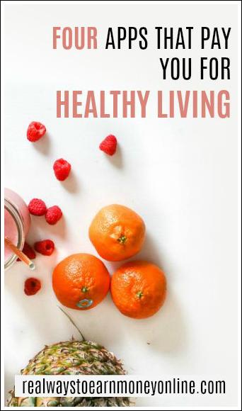 4 aplicaciones que te pagan por una vida saludable.