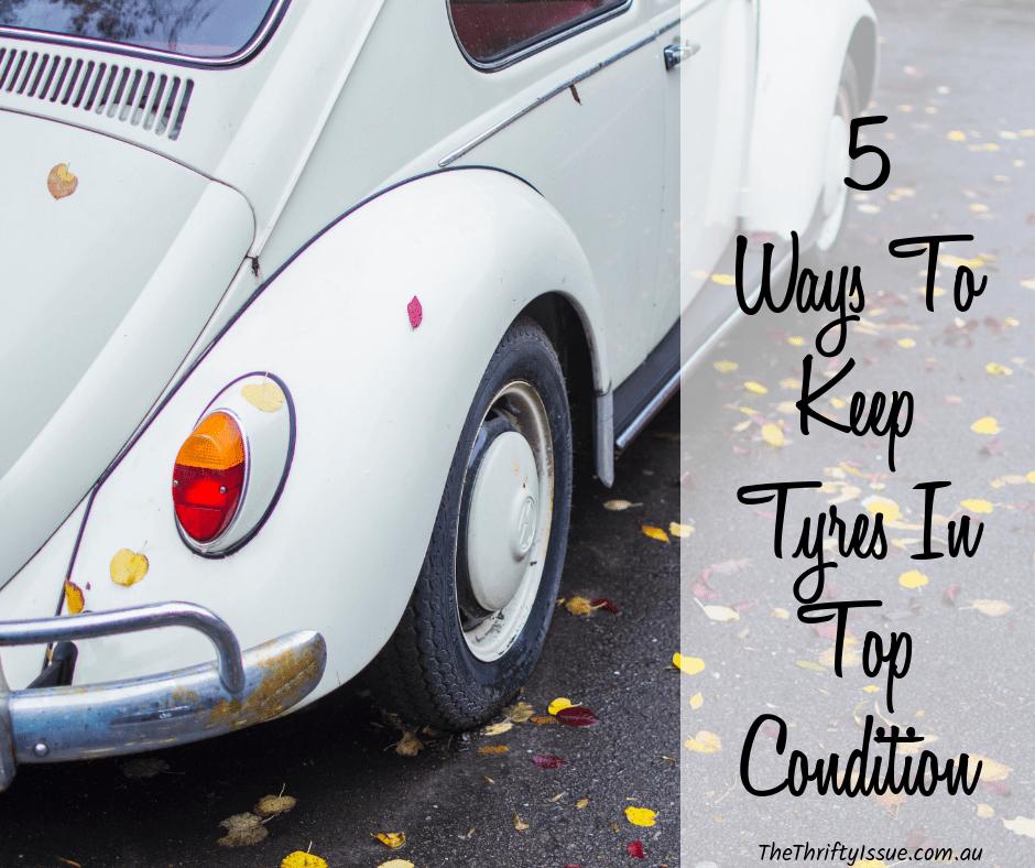 5 formas de mantener los neumáticos en óptimas condiciones