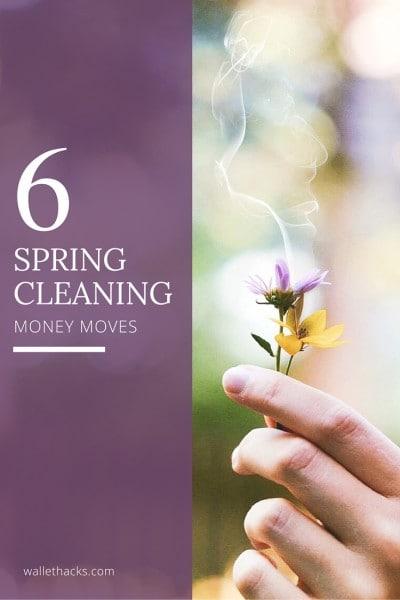 Tiempo de limpieza de primavera! Aquí hay seis movimientos simples de dinero que puede hacer ahora para simplificar su vida, darle una ventaja en el año y prepararlo para el éxito financiero. ¡El primero toma solo unos minutos y podría ahorrarle miles!
