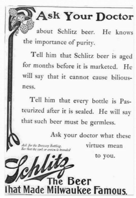 anuncio de schlitz