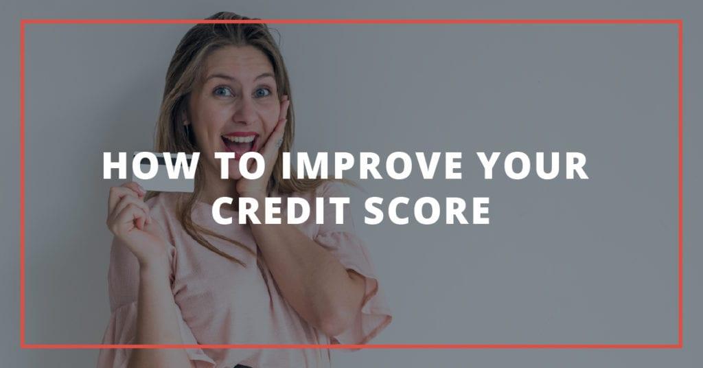 Cómo mejorar su puntaje de crédito