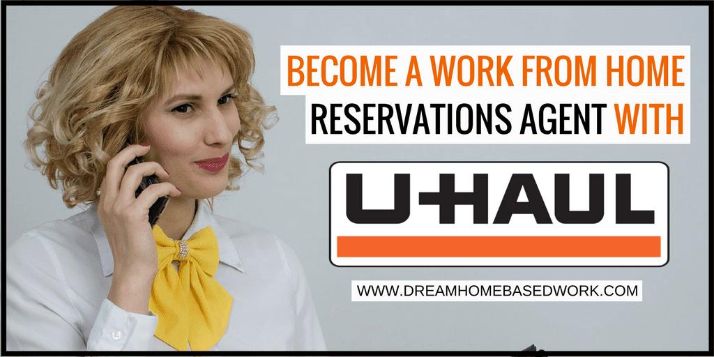 Conviértase en un agente de reservas de trabajo desde el hogar con Uhaul