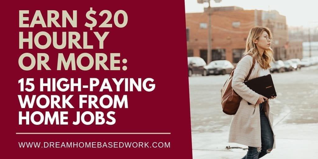 Gane $ 20 por hora o más: