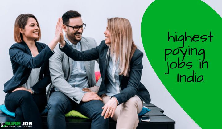 Los 10 trabajos mejor pagados en la India con un futuro brillante