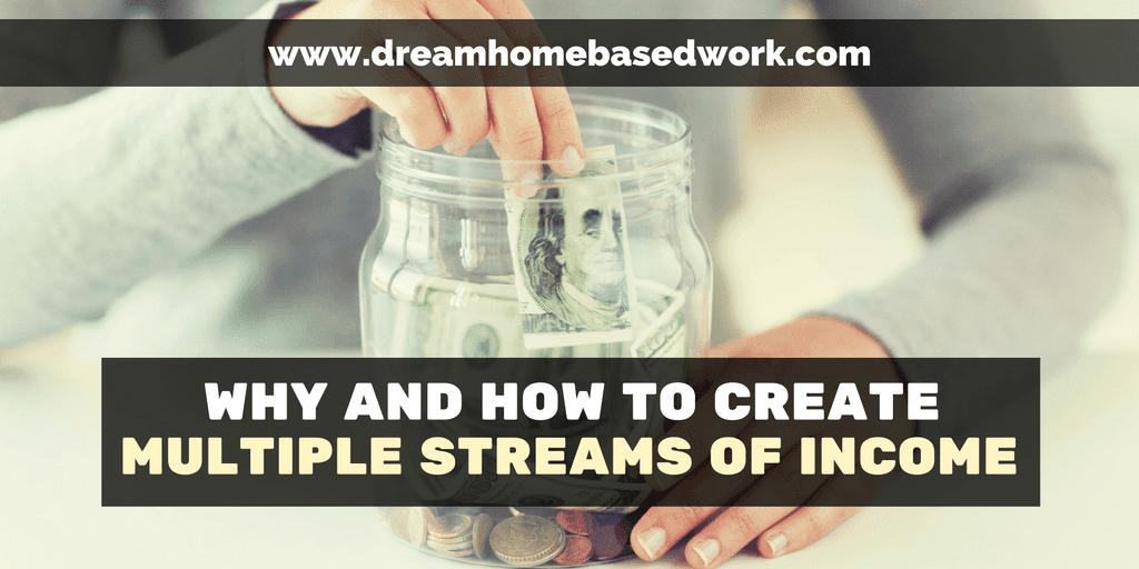 Por qué y cómo crear múltiples flujos de ingresos