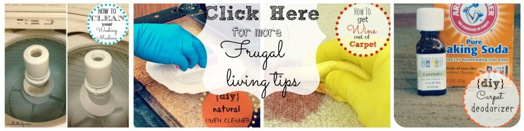 Consejos de vida frugal: ¡ayudándole a ahorrar dinero en todo!