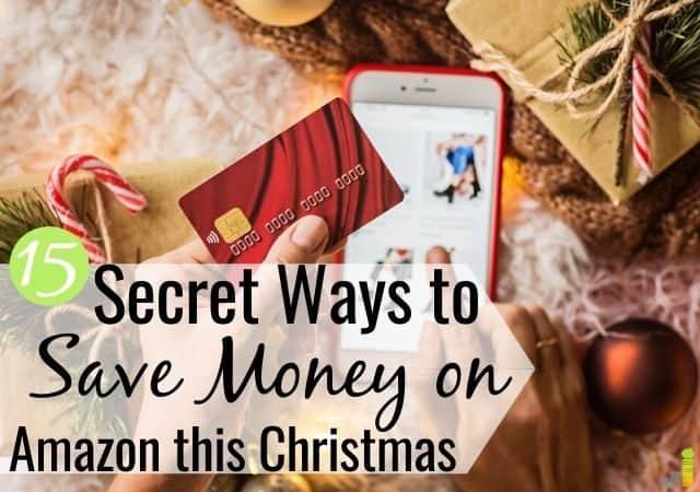¿Quieres ahorrar dinero en Amazon esta Navidad? Aquí hay 15 trucos para ahorrar dinero comprando en Amazon durante las vacaciones y mantener más dinero en su presupuesto.