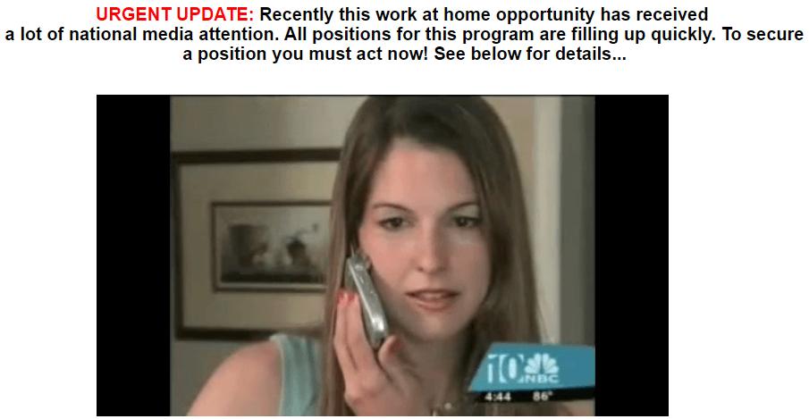 Video de la posición de trabajo en casa