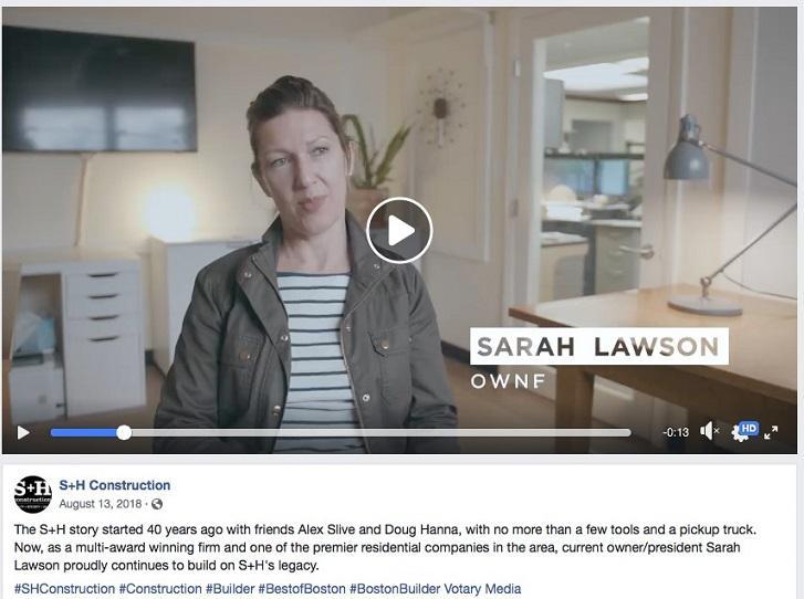 video de marketing de construcción exmaple