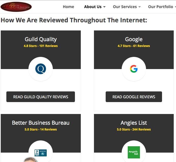 revisiones de marketing de clientes