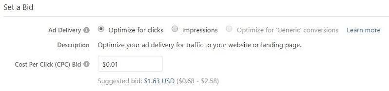 establecer una vista de oferta en Quora