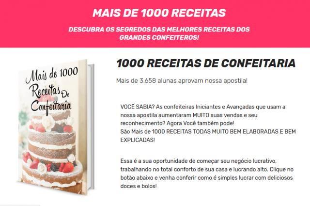 1000 recetas de confitería