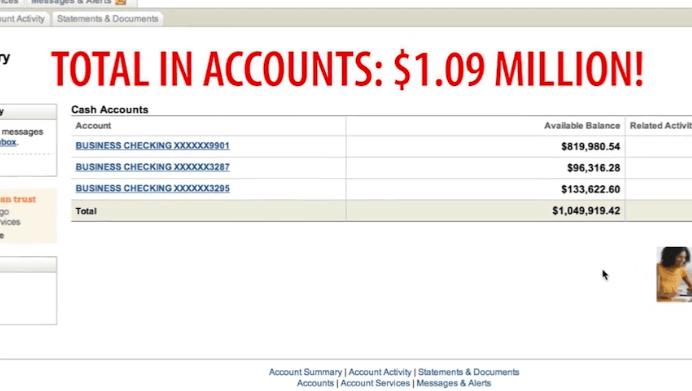Cuenta bancaria del plan Big Profits