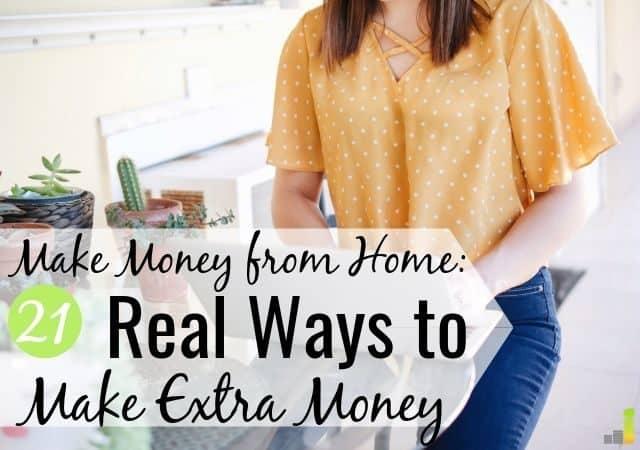 Hay muchas formas de ganar dinero desde casa. Compartimos 21 formas reales de ganar dinero en casa que pueden permitirle ganar dinero extra para gastos o reemplazar sus ingresos.