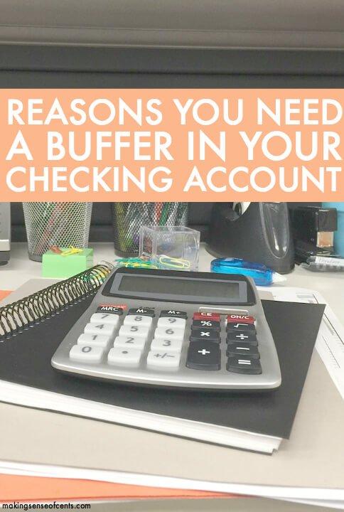 3 razones por las que necesita un búfer en su cuenta corriente