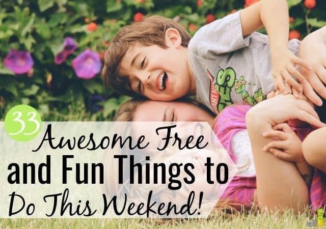 ¿Estás buscando cosas divertidas y baratas para hacer este fin de semana? ¡No busques más! Aquí hay 33 cosas gratis que hacer hoy para divertirse sin gastar mucho dinero.