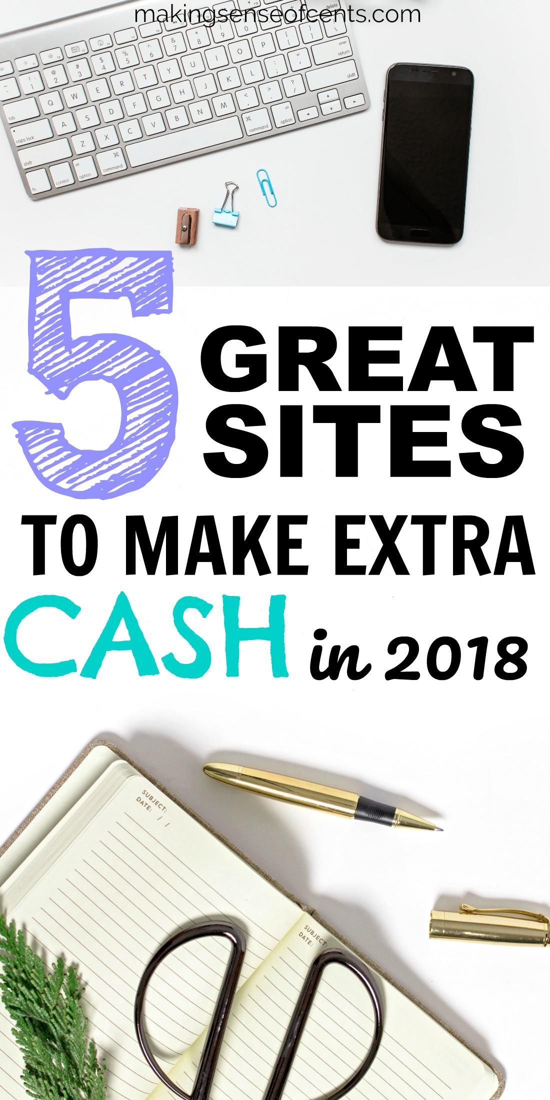 Echa un vistazo a esta lista de sitios para usar para ganar dinero. #surveysites #makingmoney #makemoney