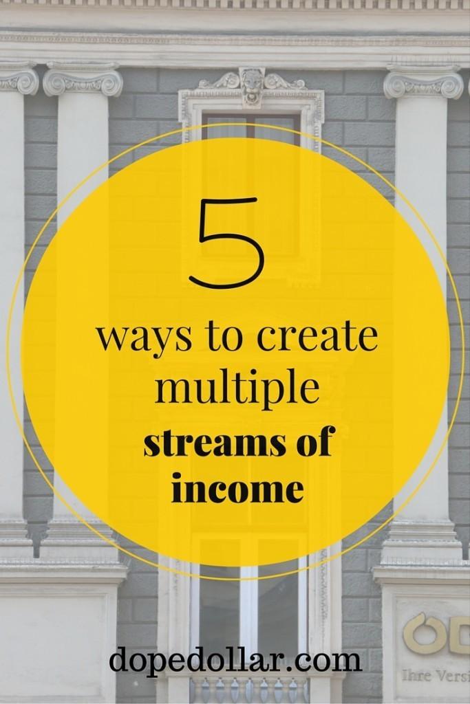 aprenda cómo tener múltiples flujos de ingresos hoy aquí