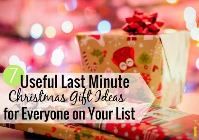 Las ideas útiles de regalos de Navidad de último minuto pueden ser difíciles de encontrar cuando se tiene un presupuesto limitado. Aquí hay 7 grandes regalos de última hora que harán felices a todos en su lista.