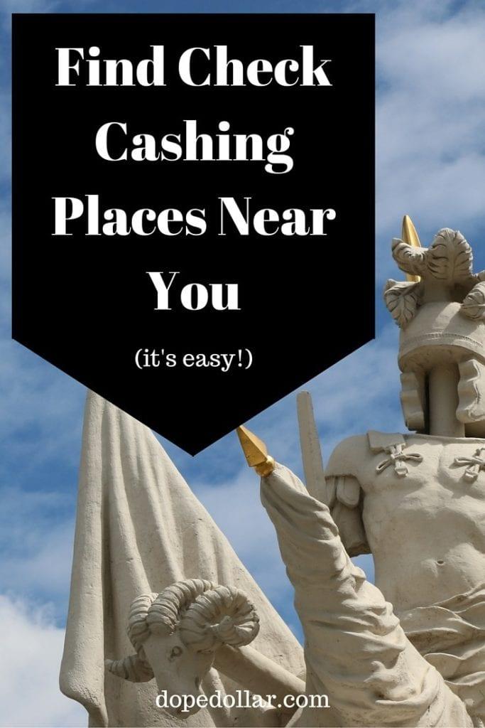 Si tiene un cheque para cobrar, aprenda los pros y los contras de qué tiendas y lugares los cobrarán por usted. Pulsa aquí para saber más.