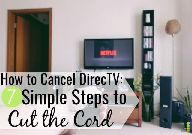 ¿Quieres saber cómo cancelar DirecTV? Nuestra guía comparte qué hacer para cancelar el servicio, el costo de cancelar DirecTV y las mejores alternativas de cable para programas de televisión.