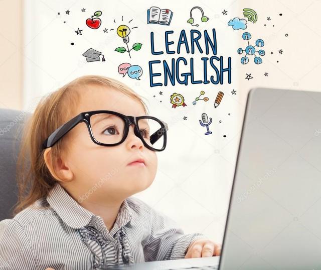 aprende inglés de niño
