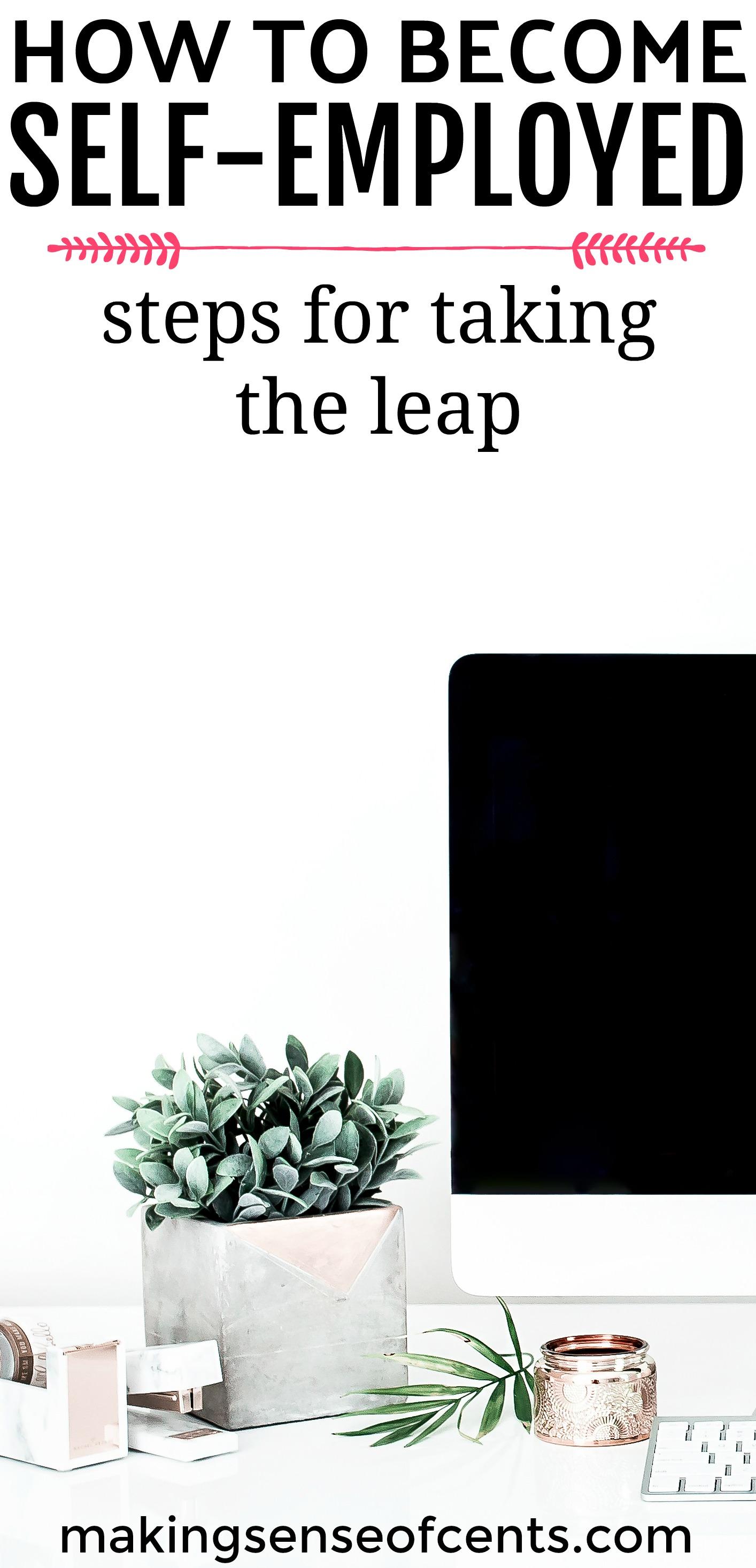 Descubra cómo trabajar por cuenta propia y los pasos exactos que debe seguir antes de dar el salto.