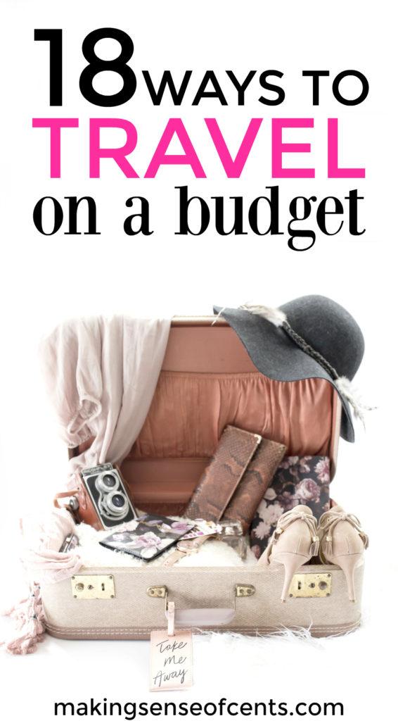 No es necesario quebrar para irse de vacaciones. Sí, puedes viajar con un presupuesto limitado, ¡todo se trata de conocer consejos y trucos para un viaje económico!