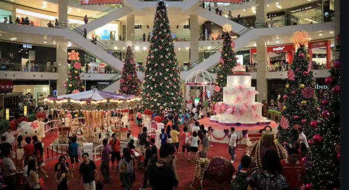 Compras navideñas en un presupuesto