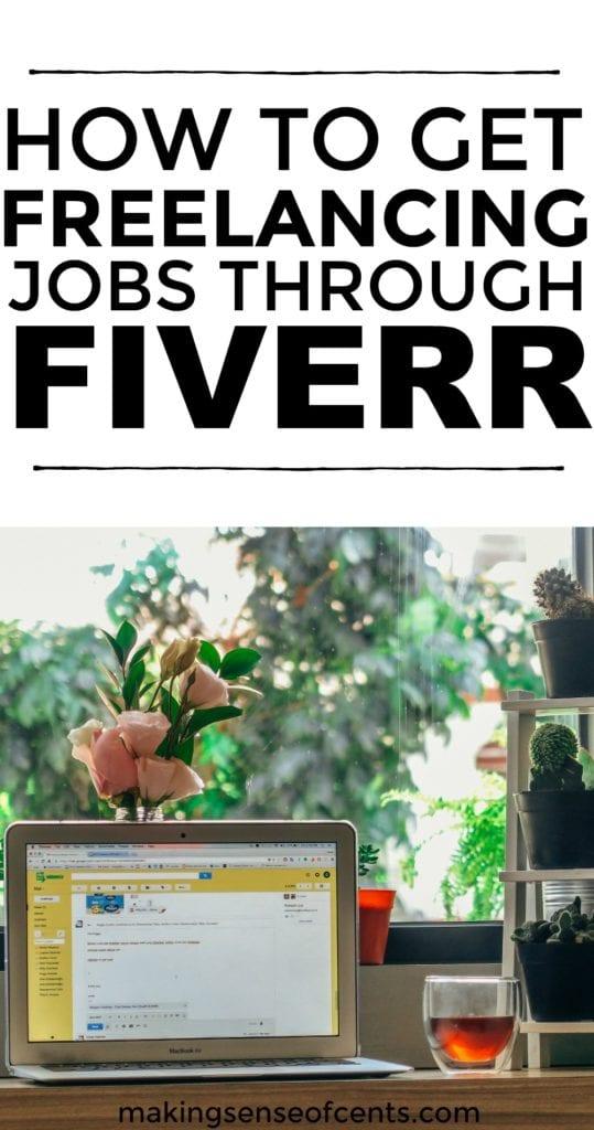 Descubre cómo conseguir trabajos independientes a través de FIVERR. #freelancing