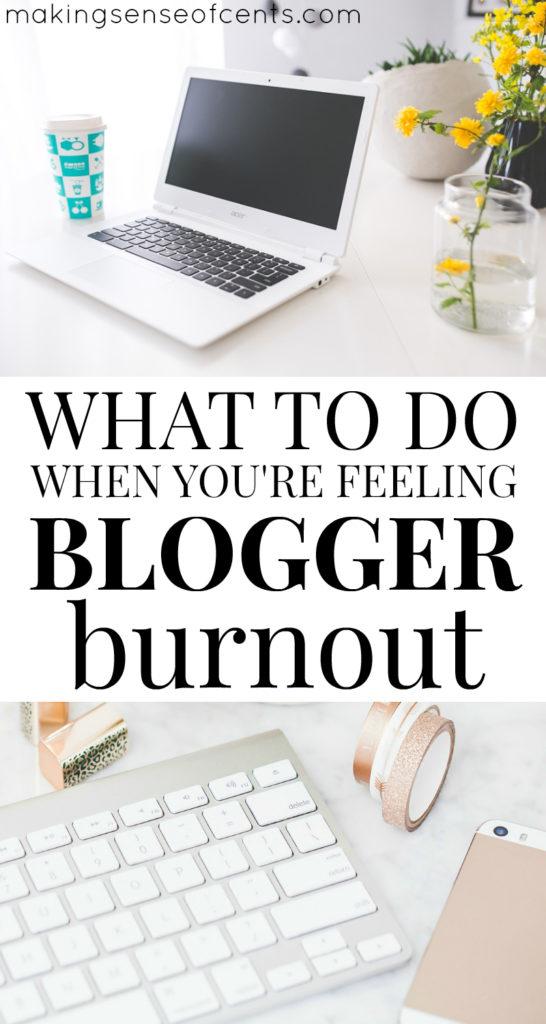 ¿Qué haces cuando te sientes cansado del blogger?