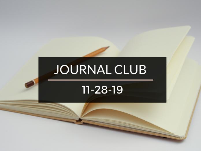 Journal Club 28/11/19