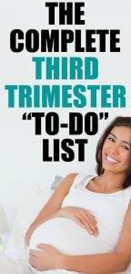 lista de tareas del tercer trimestre