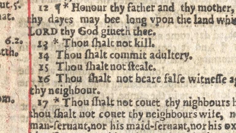 imagen de la página de la Biblia con