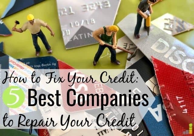 Las mejores compañías de reparación de crédito brindan asesoramiento experto para mejorar su crédito. Aquí están los 5 mejores servicios de reparación de crédito para arreglar su crédito para siempre