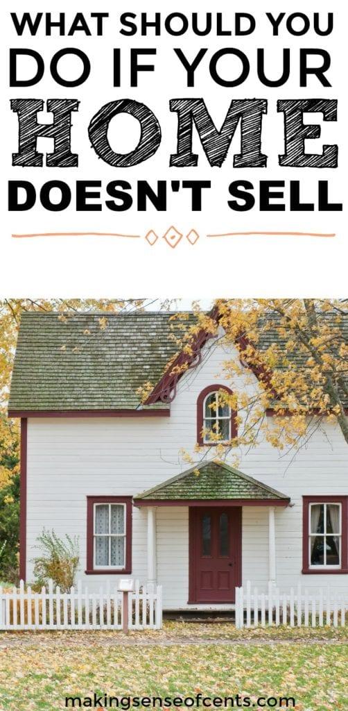 Averigüe qué hacer si su casa no vende. Esta es una gran lista!