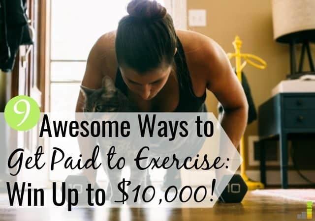 Si te cuesta mantenerte en forma, puedes recibir un pago por hacer ejercicio para motivarte. Compartimos 9 aplicaciones que le pagan al entrenamiento que también ayudan a su billetera.