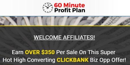 Afiliado del plan de ganancias de 60 minutos