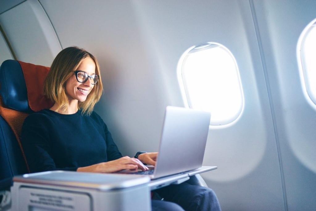 Primera clase gratis? Pruebe estas tácticas innovadoras para obtener una actualización de aerolínea