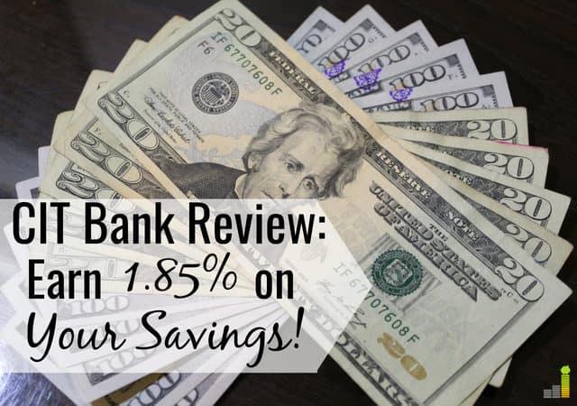 CIT Bank tiene excelentes tasas de ahorro y cuentas del mercado monetario. Lea nuestra revisión de CIT Bank para ver cómo pueden ayudarlo a ganar más dinero con sus ahorros.