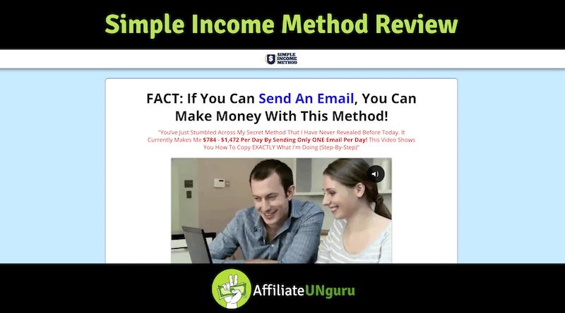 Banner de revisión del método de ingreso simple