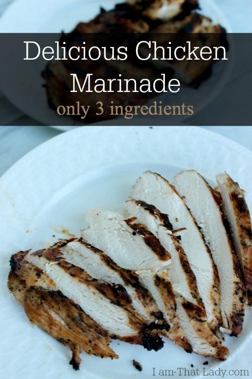 3 ingredientes marinada de pollo