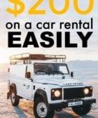 Cómo ahorrar dinero en el alquiler de un auto
