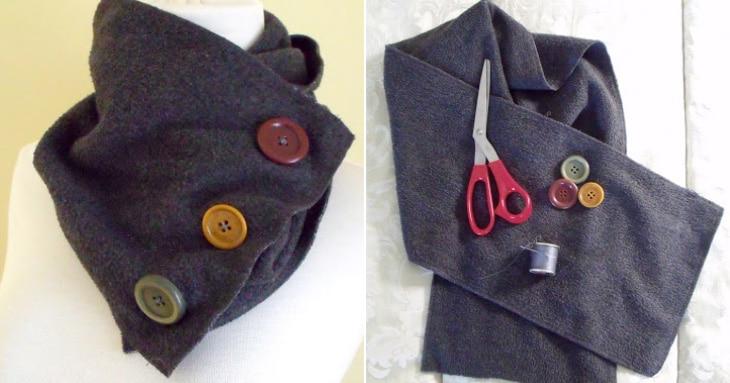 10 bufandas DIY para mantenerte caliente esta temporada