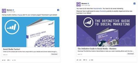 Ejemplos de anuncios de Facebook